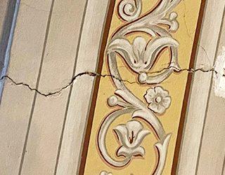 Oštećenja u potresu