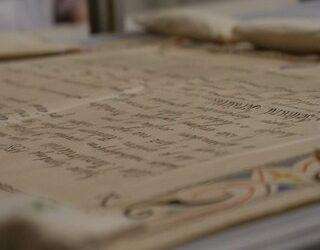 Video otkrića svitka iz crkve Presvetog Trojstva